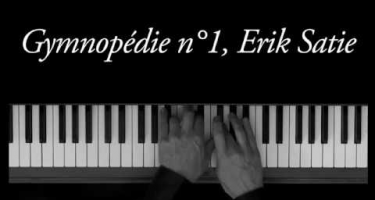 New piano lessons in our programm :  Gymnopedie No1 Eric Satie